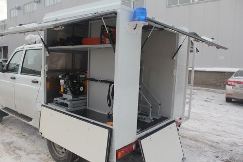 Аварийно-спасательный в комплектации малого водолазного комплекса